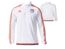 adidas Olympique Lyon Training-Top OL Fan Fußball-Jersey Sport-Shirt weiß Gr.XXL