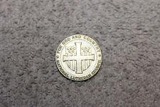 "Original WW2 U.S. ""For God and County"" National Lutheran Council Badge, PB"
