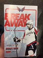 Washington Capitals Pittsburgh Penguins 2017 Playoff Program  Ovechkin