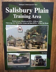 Tankograd British Special 9013: Salisbury Plain Training Area, Softback Book