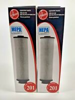 Lot of 2 Vac HOOVER Style 201 HEPA Vacuum Filter AA40201  New In Box