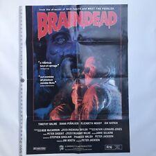 Peter Jackson - BRAINDEAD - Original NZ Release Full Sheet Bill