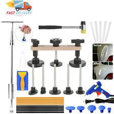 Car Body Paint Dent Removal and Repair Tool T-rod Slide Hammer Bridge Puller Kit