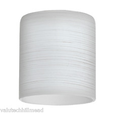 Eglo My Choice FROSTED Glass Shade WHITE 8cm H X 7 cm D X 7cm W