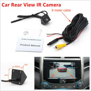 IR Light Car Truck Rear View Camera Night Vision Wide Angle Waterproof Back Up