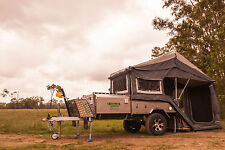 Austrack CANNING Rear Folding Camper Trailer