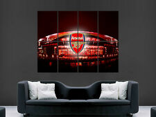 ARSENAL EMIRATES STADIUM FOOTBALL  LONDON ART IMAGE HUGE  LARGE PICTURE POSTER