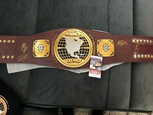 NXT North American signed title autographed  Gargano Ricochet Adam Cole Strong
