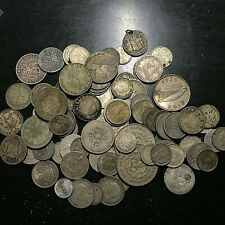LOT OF 14.85 OZ. SILVER OLD WORLD COINS
