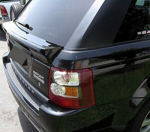 Fits 2005-13 UNPAINTED Land Rover Range Rover Sport Custom Under Window Spoiler