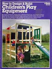 HOW to Design & BUILD Children's Play Equipment  A-FRAME CLUBHOUSE Great GIFT