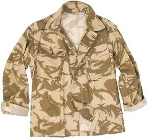 Genuine British Army Soldier 95 Desert DPM Camo Tropical Combat Shirt Jacket UK