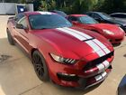 2017 Ford Mustang Shelby GT350 2017 Ford Mustang Shelby GT350 3715 Miles Ruby Red 2D Coupe Premium Unleaded V-8