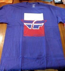 Fly Racing Color Block T-shirt Tee Medium 352-0458M NS372