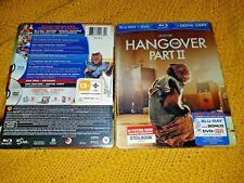 The HANGOVER 2 Blu-Ray + DVD FutureShop Exclusive Bi-Lingual Steelbook New&Seal+