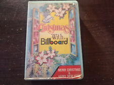 VARIOUS ARTISTS - Christmas With Billboard CASSETTE TAPE / Made In Indonesia
