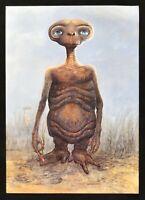Werbeplakat Et L'Außerirdische Extra Terrestrial Steven Spielberg Rambaldi 1981