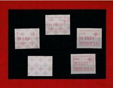 ** Abarten-Sammlung Südafrika 0000+Gummidruck+Leerfeld+Teildruck+Testpapier **