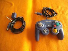 Original Controller lila / blau + Verlängerung für Nintendo Gamecube