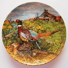 The Pheasant 1st Issue Plate Upland Birds of North America Wayne Anderson 1986