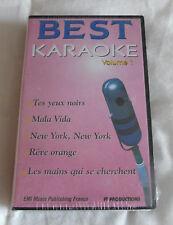 Best Karaoke Volume 1 VHS: neuf sous blister