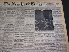 1950 FEBRUARY 26 NEW YORK TIMES - ATTLEE CARRIES ON, GOVERNMENT CRISIS - NT 4740