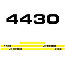 John Deere 4430 tractor decal adesivo aufkleber adesivo sticker set