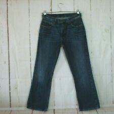 Tommy Hilfiger Herren Jeans Bootcut Jean Denim Blau Used Look W31 L30
