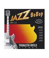 Thomastik BB112 Jeu de cordes électriques Jazz BeBop Light 12-50