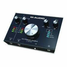 M-audio M-track 2x2m 24/192 USB-C High Speed audio MIDI interface con Crystal