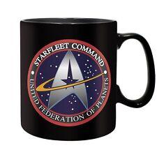 Star Trek - Keramik Tasse Riesentasse 460 ml - Starfleet Command - Geschenkbox
