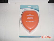 AMS Professional CPR Mask Pocket Resuscitator in Clamshell Case