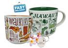 "💖Starbucks Mug Set HAWAII & WAIKIK ""Been There Series"" 14 oz Genuine Brand New!"