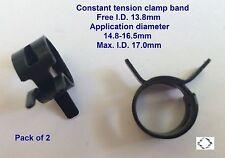 Chiusura fascia tensione costante (CTC10138) Min.14.8-16.5mm MAX. x 2