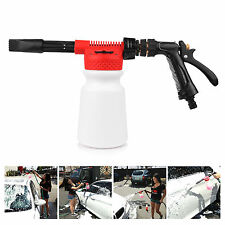Car Garden Adjustable 2in1 Snow Foam Lance Washer Soap 900ML Bottle Car Wash Gun