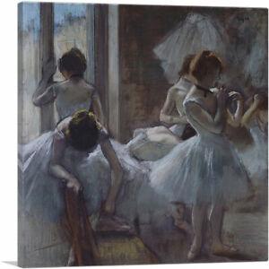 ARTCANVAS Dancers 1885 Canvas Art Print by Edgar Degas