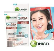Garnier PureActive ANTI-ACNE WHITE Acne-Care Whitening CREAM Oil Control 50ml