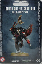 Warhammer 40K: Blood Angels: Chaplain With Jump Pack (41-17)  NEW