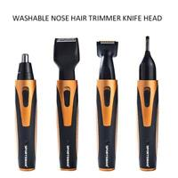 4in1 Nose Trimmer Men Rechargeable Electric Shaver Professional Hair Eyebrow Ear