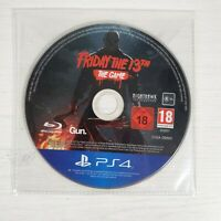 Friday The 13th The Game -- Disc Only -- Playstation 4 PS4 --