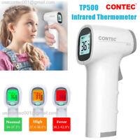 Termómetro digital por infrarrojos, frente Pistola de temperatura sin contacto
