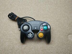 Original Nintendo GameCube Controller Black Skeleton Indigo/Clear Char's Red +