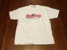 Men's VTG 90's 1997 Hanes Virginia VA Lottery Monopoly White T-Shirt sz XL