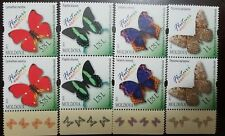 L) 2013 MOLDOVA, FAUNA, BUTTERFLIES, EXOTIC FLUIDS, MULTIPLE STAMPS, FULL COLORS