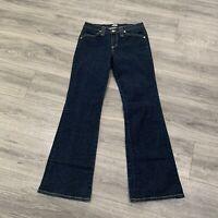 VTG Just USA Jeans Women's Juniors 11 Boot Cut Dark Wash 1990s Throwback