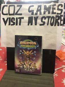 Digimon The Movie Rare R4 DVD Animated Cartoon Anime Movie Australian Release