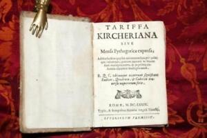 Tariffa Kircheriana sive mensa Pythagorica exspansa,, KIRCHER ATHANASIUS