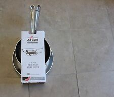 """All-Clad 7""""Nonstick and 9"""" French Skillet Set"""