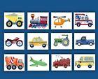 vintage car trucks boy nursery bedding wall art prints decor pictures painting