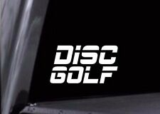 Disc Golf ESPN Font Style Vinyl Decal Car Window Sticker or Stencil Fast Ship!!!